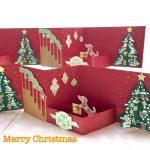 クリスマス・立体カード